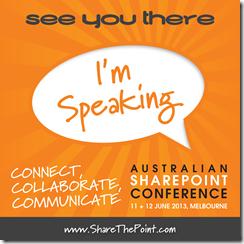 SPC MEL 2013 Im speaking