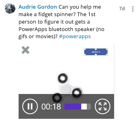 How My Daughter Won a PowerApps Contest With a Fidget