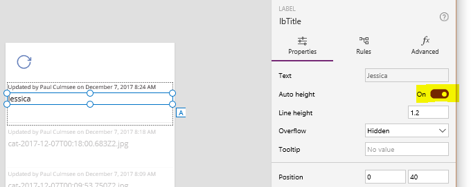 How to make a PowerApps activity feed via SharePoint search–Part 3