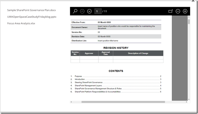 Some seriously powerful (and free) PDF functionality in PowerApps