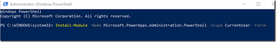 The hassle-free way to install the Power Platform PowerShell